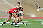 San Diego, CA 05/21/11 - Cory Demarco (Coronado #19) and Lexi Brinza (Cathedral Catholic #6) in action during the 2011 CIF San Diego Division 2 Girls lacrosse finals between Cathedral Catholic and Coronado.