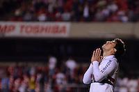 SÃO PAULO, SP, 20 DE JULHO DE 2013 - CAMPEONATO BRASILEIRO - SÃO PAULO x CRUZEIRO: Aloisio durante partida São Paulo x Cruzeiro, válida pela 8ª rodada do Campeonato Brasileiro de 2013, disputada no estádio do Morumbi em São Paulo. FOTO: LEVI BIANCO - BRAZIL PHOTO PRESS.