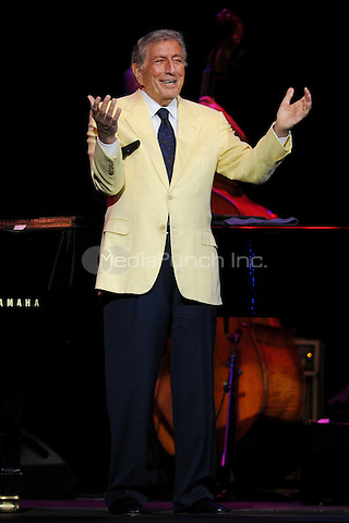 HOLLYWOOD FL - MARCH 16 : Tony Bennett performs at Hard Rock live held at the Seminole Hard Rock hotel & Casino on March 16, 2012 in Hollywood, Florida. ©mpi04/MediaPunch Inc.