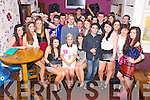 Denise Doherty, Glenflesk, pictured with her family and friends as she celebrated her 18th birthday in Corkerys Bar, Killarney on Friday night...................