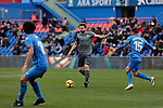 Real Sociedad's Asier Illarramendi during La Liga match between Getafe CF and Real Sociedad at Coliseum Alfonso Perez in Getafe, Spain. December 15, 2018. (ALTERPHOTOS/A. Perez Meca)