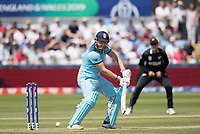 Jonny Bairstow (England) guides to third man during England vs New Zealand, ICC World Cup Cricket at The Riverside Ground on 3rd July 2019