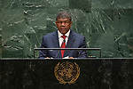 General Assembly Seventy-fourth session: Opening of the general debate<br /> PM<br /> <br /> ANGOLA