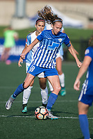Allston, MA - Saturday August 19, 2017: Julie King during a regular season National Women's Soccer League (NWSL) match between the Boston Breakers and the Orlando Pride at Jordan Field.