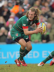 Sam Harrison of Leicester Tigers - Aviva Premiership - Leicester Tigers vs Sale Sharks - Season 2014/15 - 28th February 2015 - Photo Malcolm Couzens/Sportimage