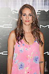 Silvia Alonso poses at a MAC makeup new season photocall at Italy Consulate in Madrid, Spain. June 26, 2014. (ALTERPHOTOS/Victor Blanco)