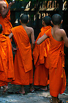 Novice Monk(s), Luang Prabang, Laos