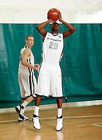 April 9, 2011 - Hampton, VA. USA;  Dalton Hoover participates in the 2011 Elite Youth Basketball League at the Boo Williams Sports Complex. Photo/Andrew Shurtleff