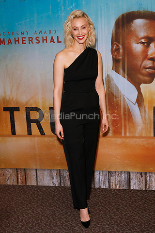 Los Angeles, CA - JAN 10:  Sara Gadon attends the HBO premiere of True Detective Season 3 at the DGA Theater on January 10 2019 in Los Angeles CA. Credit: CraSH/imageSPACE/MediaPunch
