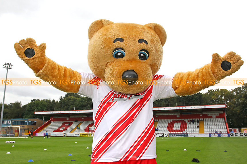 Boro Bear during Stevenage vs Hartlepool United, Sky Bet EFL League 2 Football at the Lamex Stadium on 3rd September 2016
