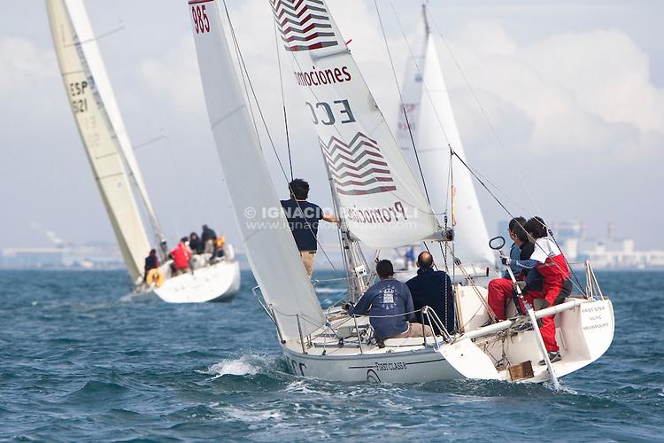 ECC Construcciones y Promociones - Regata Trofeo Nautilus - Puerto Deportivo Pobla Marina - 29/3/2008