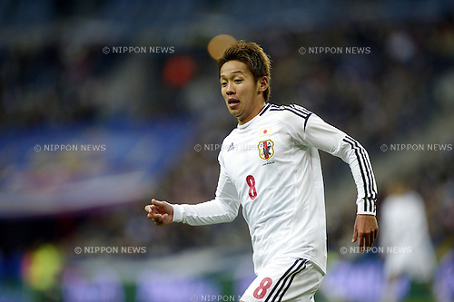Hiroshi Kiyotake (JPN),.OCTOBER 12, 2012 - Football /Soccer :.International friendly match between France 0-1 Japan at Stade de France in Saint-Denis, France. (Photo by FAR EAST PRESS/AFLO)
