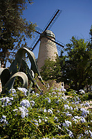 Asie/Israël/Judée/Jérusalem: Moulin de Montefiore quartier Yemin Moshe