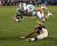 Marshall tight end Ryan Yurachek. The Pitt Panthers defeated the Marshall Thundering Herd 43-27 on October 1, 2016 at Heinz Field in Pittsburgh, Pennsylvania.