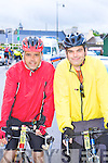 Killarney cyclists Eoin and Enda Moynihan at the Ring of Kerry cycle in Killarney Saturday morning.