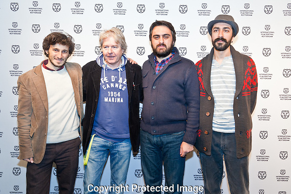 IFFR 2012, International Film Festival Rotterdam, Premiere, Orhan Eskikoy, Zeynel Dogan, Zeynel Dogan, Michael Eckelt, TIGERWALL, Photo by Nichon Glerum Copyright and ownership by photographer. FOR IFFR USE ONLY. Not to be (re-)distributed in any form. Copyright and ownership by photographer. FOR IFFR USE ONLY. Not to be (re-)distributed in any form.