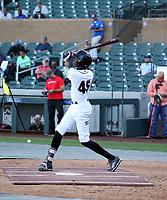 Brayan Moray participates in the MLB International Showcase at Salt River Fields on November 12-14, 2019 in Scottsdale, Arizona (Bill Mitchell)