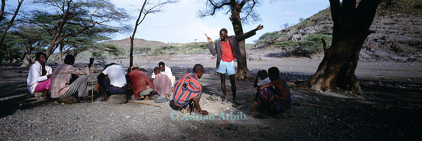 Turkana meeting,   Northern Turkana, Kenya