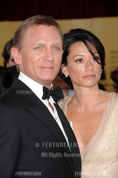 Daniel Craig & Satsuki Mitchell at the 79th Annual Academy Awards at the Kodak Theatre, Hollywood..February 26, 2007  Los Angeles, CA.Picture: Paul Smith / Featureflash