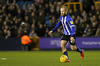 Barry Bannan of Sheffield Wednesday in action during Millwall vs Sheffield Wednesday, Sky Bet EFL Championship Football at The Den on 12th February 2019