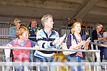 Conor Leahy, Sean Leahy and Mary Leahy from Listowel enjoying the Listowel Races on Sunday