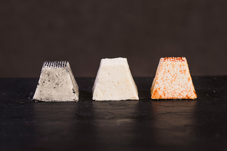 Say Cheese Product shots , Smelly Cheese shop,  Mini Pyramide Photo: Nick Clayton