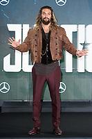 Jason Momoa<br /> at the &quot;Justice League&quot; photocall,  London<br /> <br /> <br /> &copy;Ash Knotek  D3345  04/11/2017