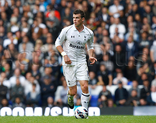 07.10.2012. North London, England. ..Gareth Bale of Tottenham Hotspur..Barclays Premier League. Tottenham Hotspur versus Aston Villa..at White Hart Lane.
