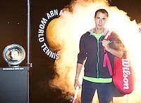 11-02-14, Netherlands,Rotterdam,Ahoy, ABNAMROWTT, Lukas Rosol(TSJ)<br /> Photo:Tennisimages/Henk Koster