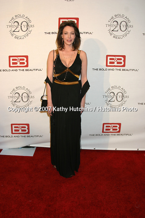 Hunter Tylo.The Bold & The Beautiful 20th Anniversary Party.Two Rodeo Drive.Beverly Hills, CA.March 25, 2007.©2007 Kathy Hutchins / Hutchins Photo.