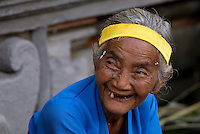 Old women at Tirta Empul Temple, Bali