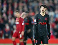 11th March 2020; Anfield, Liverpool, Merseyside, England; UEFA Champions League, Liverpool versus Atletico Madrid;  Joao Felix of Atletico Madrid