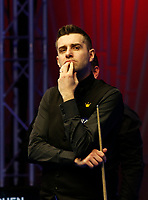 27th February 2020; Waterfront, Southport, Merseyside, England; World Snooker Championship, Coral Players Championship; Mark Selby (ENG) looks on during his quarter-final match against Stephen Maguire (SCO)