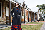 Sunday Mail fashion with Mirella , Winter Reds Festival ,at Marble Hill with Lotta from Finesse. Photo: Nick Clayton