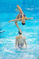 People Republic of China CHN<br /> CHANG Hao CHENG Wentao<br /> FENG Yu GUO Li<br /> LIANG Xinping SUN Wenyan<br /> TANG Mengni WANG Qianyi<br /> XIAO Yanning YIN Chengxin<br /> Gwangju South Korea 18/07/2019<br /> Artistic Swimming Free Combination Preliminaries<br /> 18th FINA World Aquatics Championships<br /> Yeomju Gymnasium <br /> Photo © Giorgio Scala / Deepbluemedia / Insidefoto