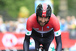 Ahmad Badreddin Wais (SYR) in action during the Men Elite Individual Time Trial of the UCI World Championships 2019 running 54km from Northallerton to Harrogate, England. 25th September 2019.<br /> Picture: Eoin Clarke | Cyclefile<br /> <br /> All photos usage must carry mandatory copyright credit (© Cyclefile | Eoin Clarke)