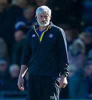 Bath Rugby's Head Coach Todd Blackadder<br /> <br /> Photographer Bob Bradford/CameraSport<br /> <br /> Premiership Rugby Cup - Exeter Chiefs v Bath Rugby - Sunday 24th March 2019 - Sandy Park - Exeter<br /> <br /> World Copyright © 2018 CameraSport. All rights reserved. 43 Linden Ave. Countesthorpe. Leicester. England. LE8 5PG - Tel: +44 (0) 116 277 4147 - admin@camerasport.com - www.camerasport.com