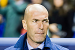 Manager Zinedine Zidane of Real Madrid reacts prior to the La Liga 2017-18 match between Levante UD and Real Madrid at Estadio Ciutat de Valencia on 03 February 2018 in Valencia, Spain. Photo by Maria Jose Segovia Carmona / Power Sport Images
