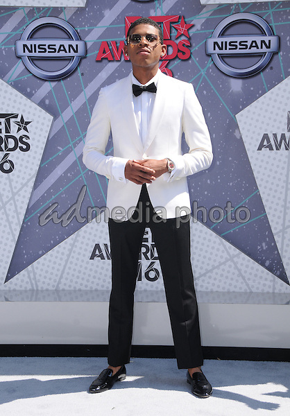 26 June 2016 - Los Angeles. Bryshere Grey. Arrivals for the 2016 BET Awards held at the Microsoft Theater. Photo Credit: Birdie Thompson/AdMedia
