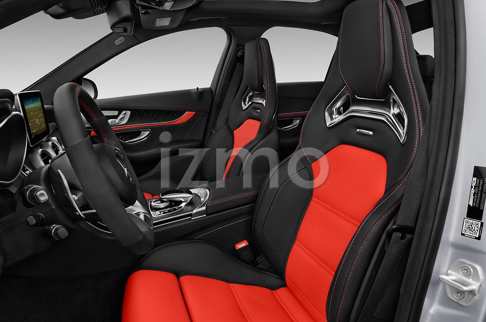 Front seat view of 2017 Mercedes Benz C-Class AMG-C63-S 4 Door Sedan Front Seat  car photos