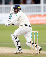 Grant Stewart bats for Kent during the County Championship Division Two game between Kent and Northants at the St Lawrence ground, Canterbury, on Sept 4, 2018.