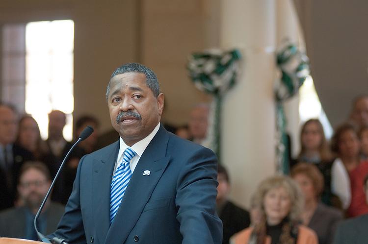 Baker Center Dedication...President McDavis