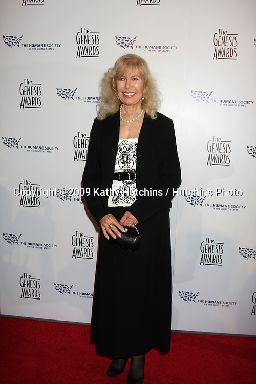 Loretta Swit arriving at the Genesis Awads at the Beverly Hilton Hotel in Beverly Hills, CA  on March 28, 2009.©2009 Kathy Hutchins / Hutchins Photo....                .