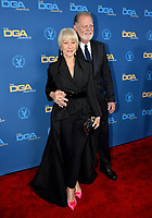 LOS ANGELES, CA. February 02, 2019: Helen Mirren & Taylor Hackford at the 71st Annual Directors Guild of America Awards at the Ray Dolby Ballroom.<br /> Picture: Paul Smith/Featureflash