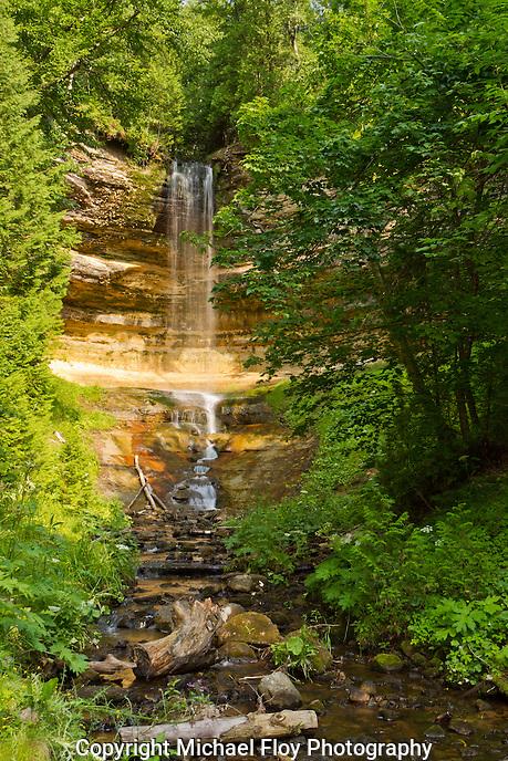 Munising Falls, Pictured Rocks National Lake Shore, Munising Michigan