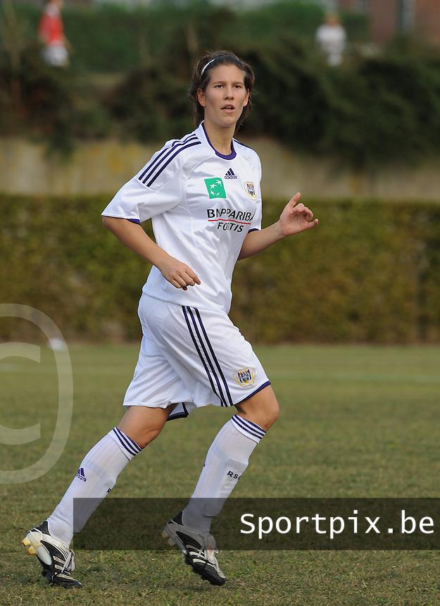 RSC Anderlecht : Lien Kesteloot.foto DAVID CATRY / Vrouwenteam.be