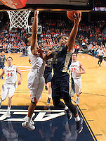 Georgia Tech guard Corey Heyward (5) during the game Jan. 22, 2015, in Charlottesville, Va. Virginia defeated Georgia Tech 57-28.