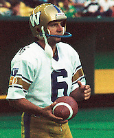 Bob Cameron Winnipeg Blue Bombers kicker. Copyright photograph Scott Grant