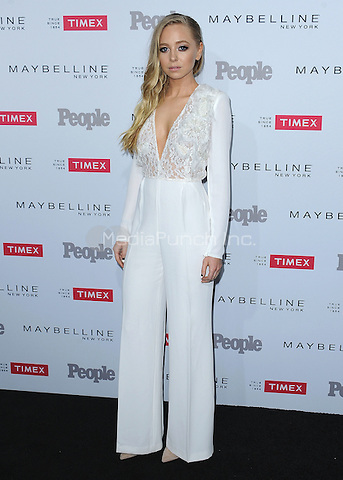 """LOS ANGELES, CA - SEPTEMBER 16:  Portia Doubleday at the People's """"Ones to Watch"""" Event at Ysabel on September 16, 2015 in Los Angeles, California. Credit: PGSK/MediaPunch"""