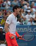 Andy Murray (GBR) defeats Kyle Edmund (GBR) 3-6, 6-4, 7-5